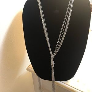 New York & Company Jewelry - New custom made New York & Co. Silver necklace